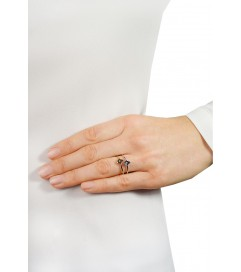 Ring 'Hand' Silber