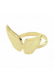Ring 'Wings' vergoldet