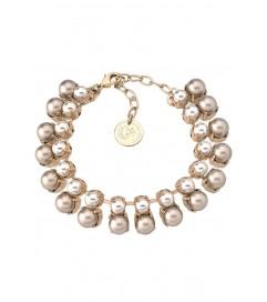 Anton Heunis Armband 'Multi Pearl' cream