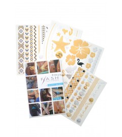Flash Tattoos 'Gold Fish H2O'