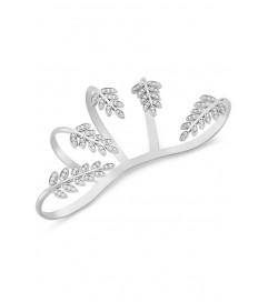 Amorium Silber Palm Cuff silber