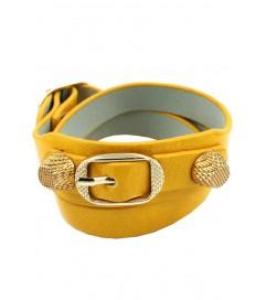 "Armband ""Triple"" gelb"