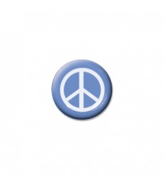 Brillen Aufkleber 'Inner Circle Peace' light blue