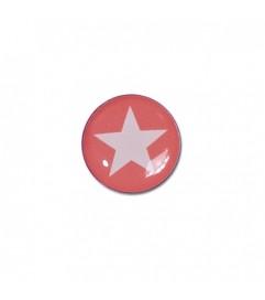Brillen Aufkleber 'Inner Circle Star' dark rosé