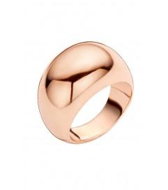 Cocktail Ring 'Simple Rosé' rosé vergoldet