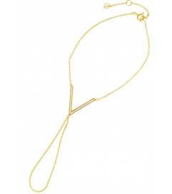 Handpiece 'V' vergoldet