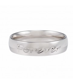 Ring 'Forever never ends' silber