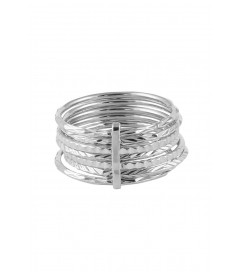 Ring '7 Days Rings' Silber