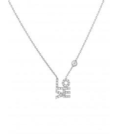 Halskette 'LO.VE' Silber