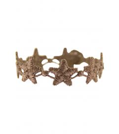 Armband 'Stern' taupe