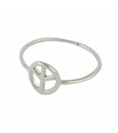 Ring 'Peace' silber