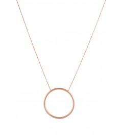 Halskette 'The Circle of Life' rosé vergoldet