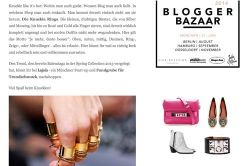blogger bazaar