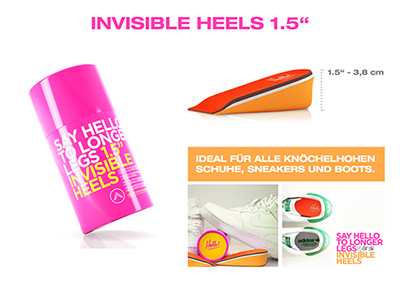 Invisible Heels 1,5
